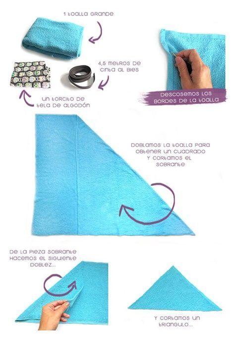 DIY capa de baño para bebé(1)