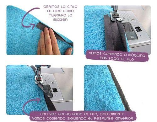 DIY capa de baño para bebé(4)