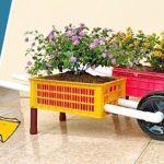 Cómo hacer una carretilla de jardín reciclando plástico