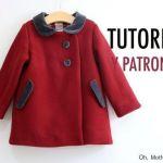 DIY+Patrón abrigo para niña