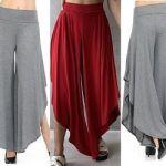 Patrones Pantalón Harem para mujer