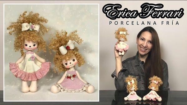Cómo hacer una muñeca Pepona en porcelana fría