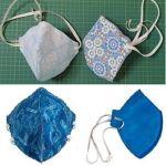 Mascarilla 4 capas para adulto y niño (patrones)