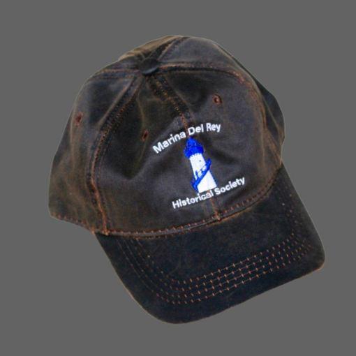 Oiled Black Baseball Cap