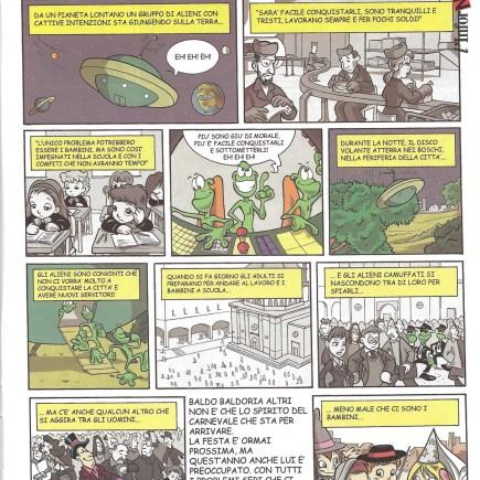 marina galatioto baldo baldoria, primo numero