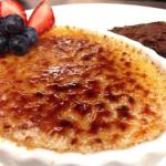 Dessert, creme brulee, myrtle beach restaurants, dining in myrtle beach