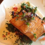 seared salmon, myrtle beach restaurant week, restaurant week south carolina, seared salmon, romantic dining, myrtle beach restaurants, seafood restaurants, myrtle beach dining