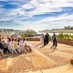 wedding ceremony marina, outside wedding ceremony, myrtle beach wedding venue