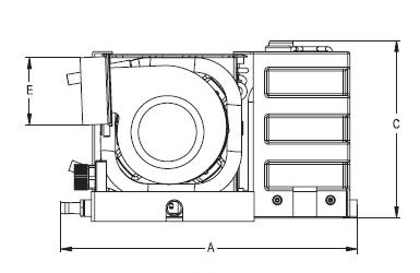 6000 Btu, 220V, Self Contained Marine Air Conditioner