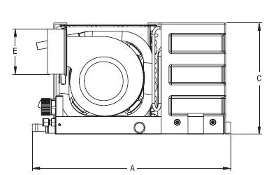 6000 Btu, 110V, Self Contained Marine Air Conditioner