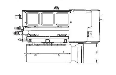9000 Btu, 110V, Self Contained Marine Air Conditioner