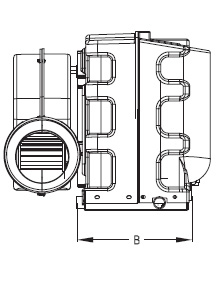 16000 Btu, 110V, Self Contained Marine Air Conditioner