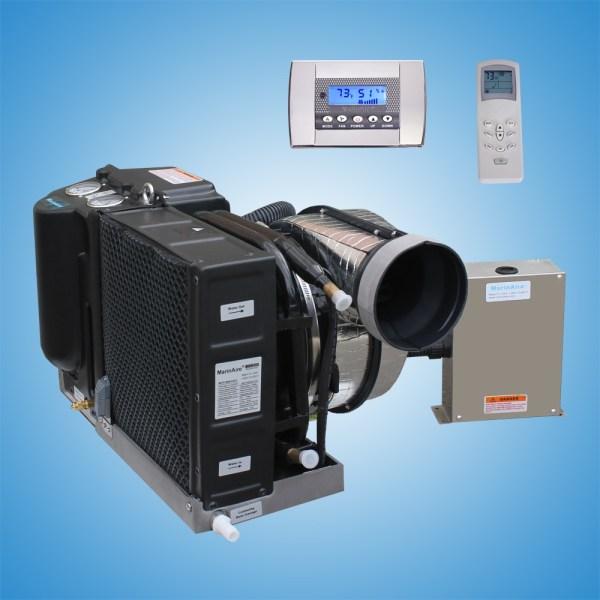 16000 Btu 110v Contained Marine Air Conditioner System