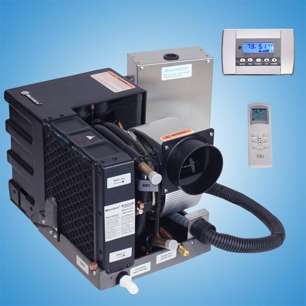 6000 Btu 110v Contained Marine Air Conditioner System