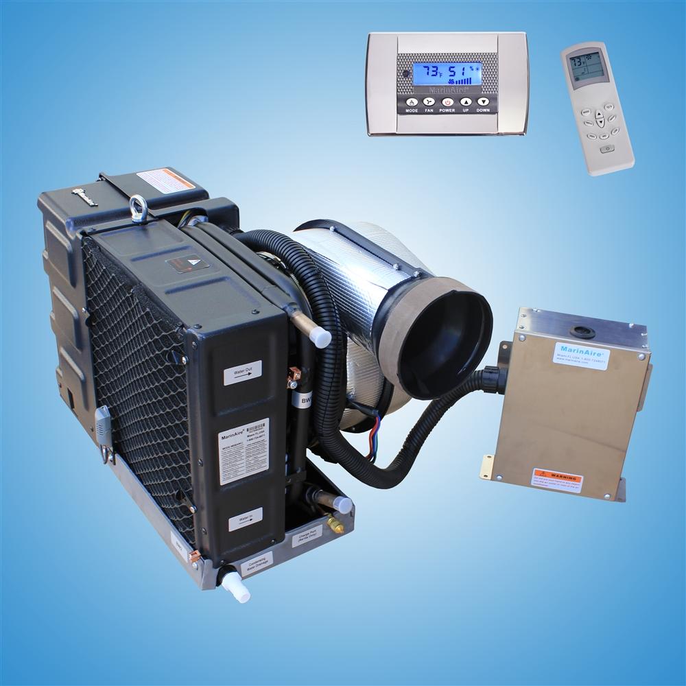9000 Btu 110v Contained Marine Air Conditioner System