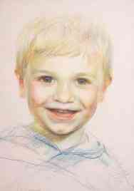 Portrait of Marcus Windsor. Commission portrait by Marina Kim