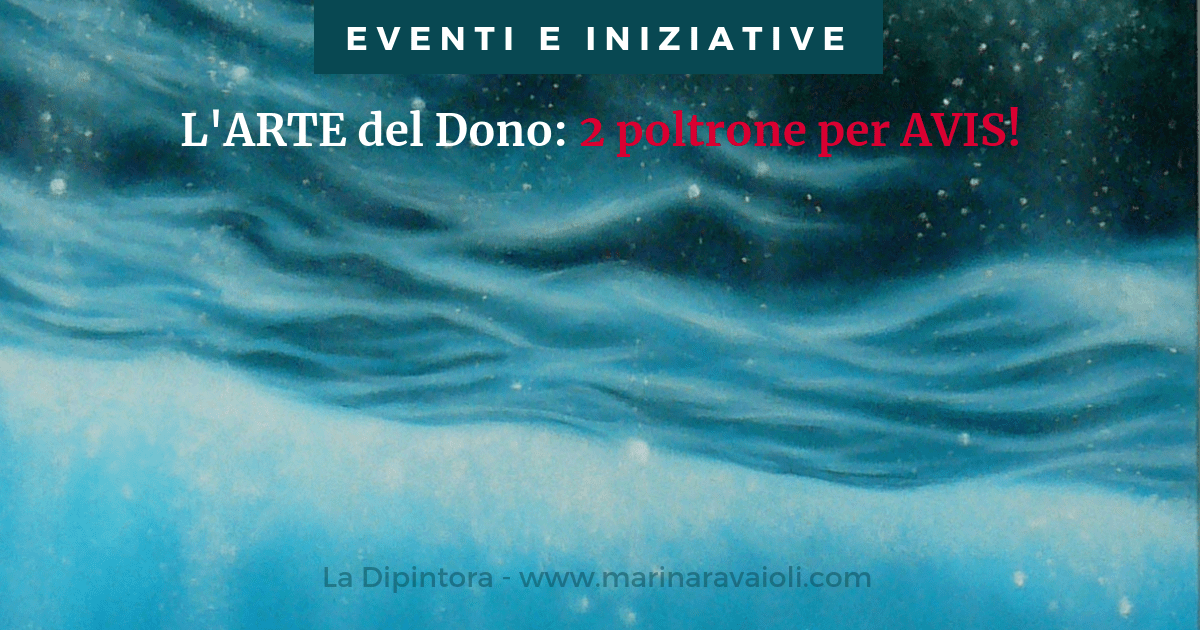 L'ARTE del Dono - 2 poltrone per AVIS!
