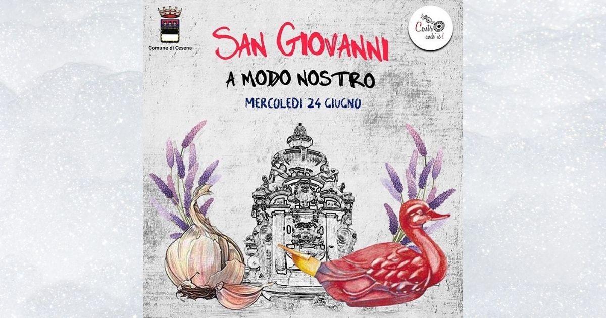 San Giovanni e la Passeggiata Creativa a Cesena
