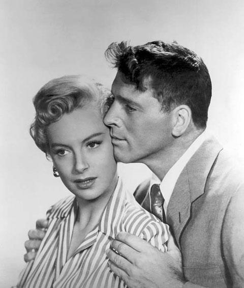 Burt Lancaster y Devorah Kerr