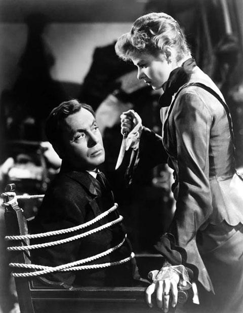 Ingrid Bergman y Charles Boyer