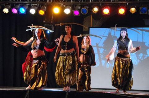 Danza con Sable. Fotografía de Montse García.