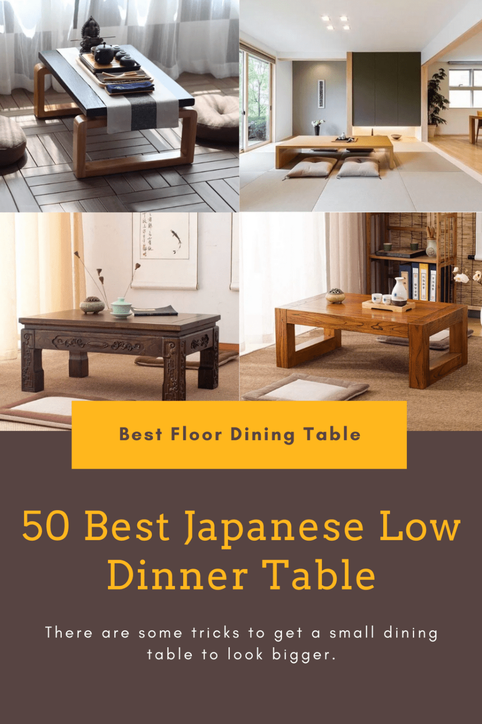 50 best recommendation japanese low dining tables