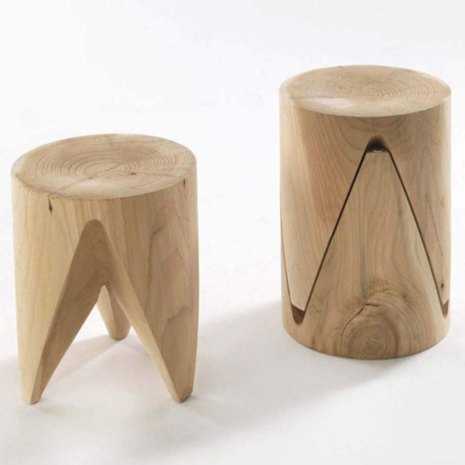 amazon hryhy natural log pier all solid wood stool