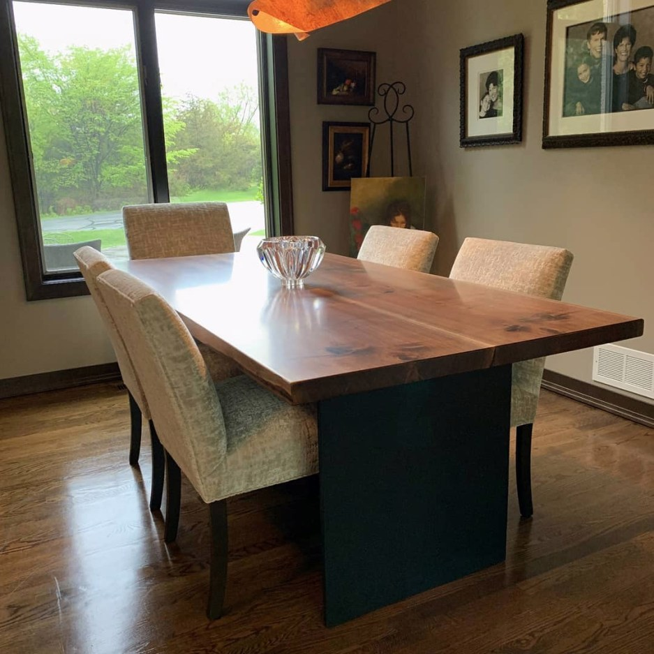 custom dining tables four fields furniture
