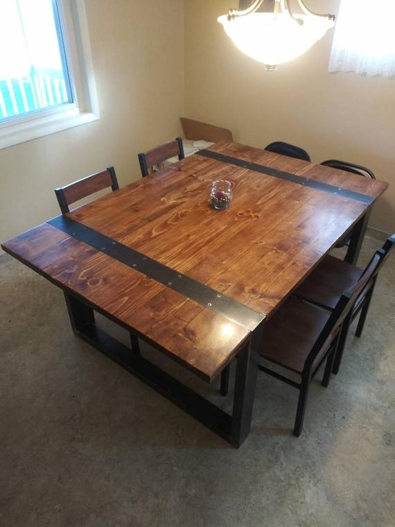 custom made dining tables benches