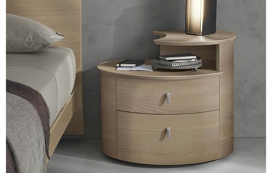 oval bedside table cemi 2 napol