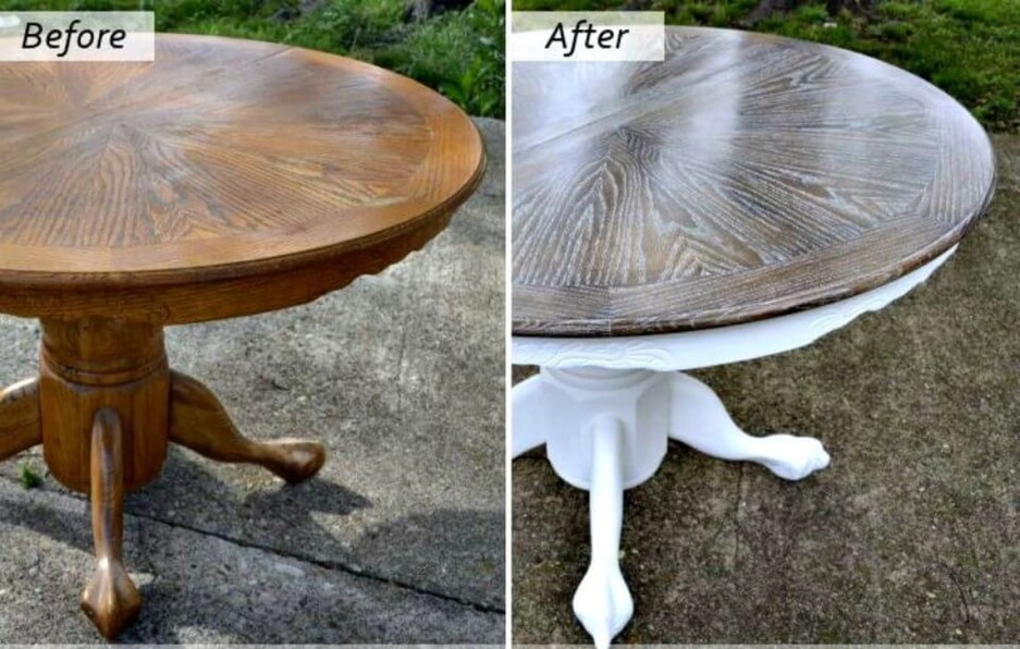 8 table makeover ideas to upgrade your table talkdecor
