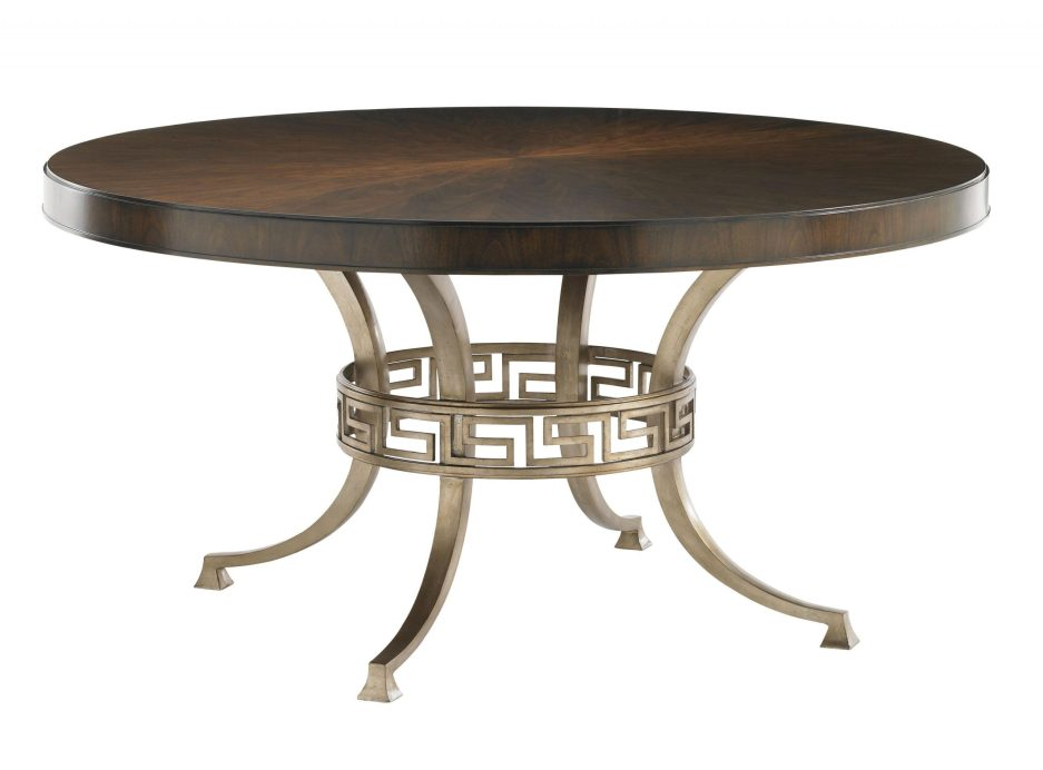 lexington tower place contemporary regis round dining table
