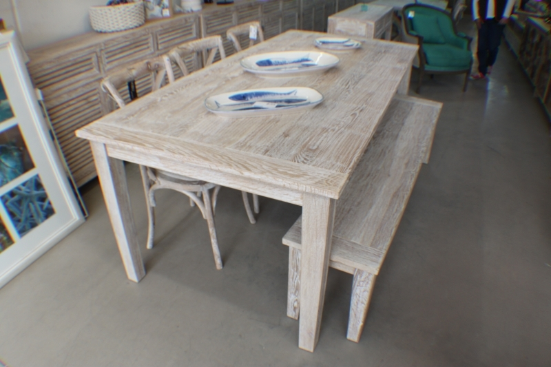 whitewash dining table theradmommy