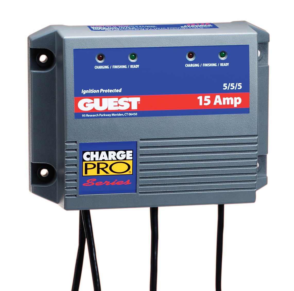 medium resolution of 15 amp triple output charge pro battery charger 15a 5 5 5 12 24 24 volt trolling motor diagram 3 bank charger wiring diagram