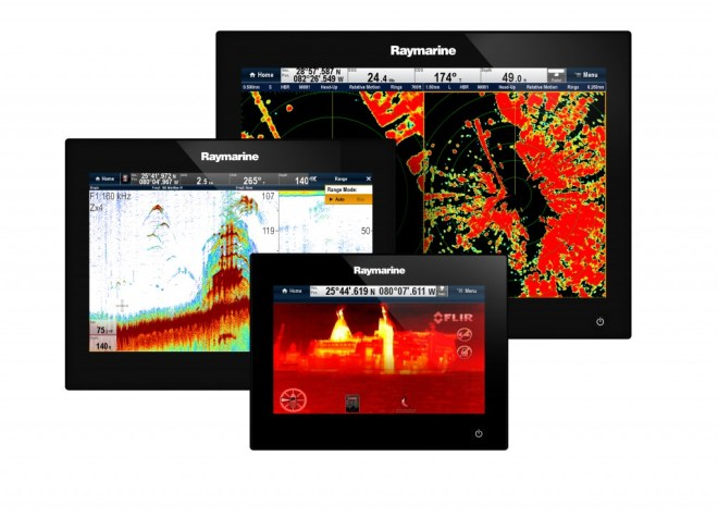 Raymarine gS Series Glass Bridge Display