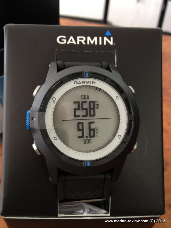Garmin quatix all is on the table