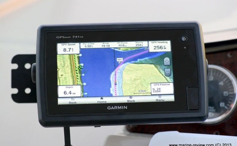 Garmin GPSMAP 741xs unboxing & first looks