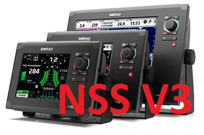 New Simrad NSS version 3 software update