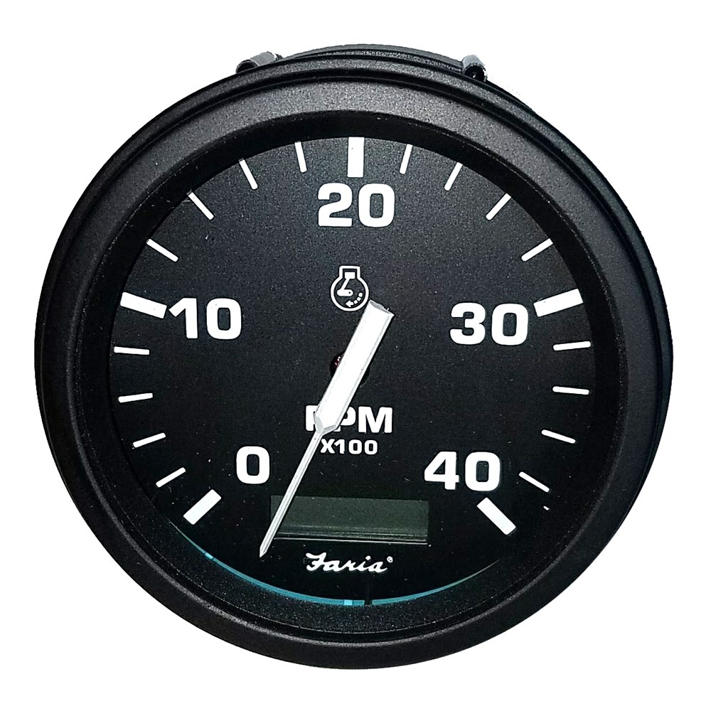 hight resolution of faria beede marine gauges page 6faria tachometer heavy duty tachometer w hourmeter 4000 rpm