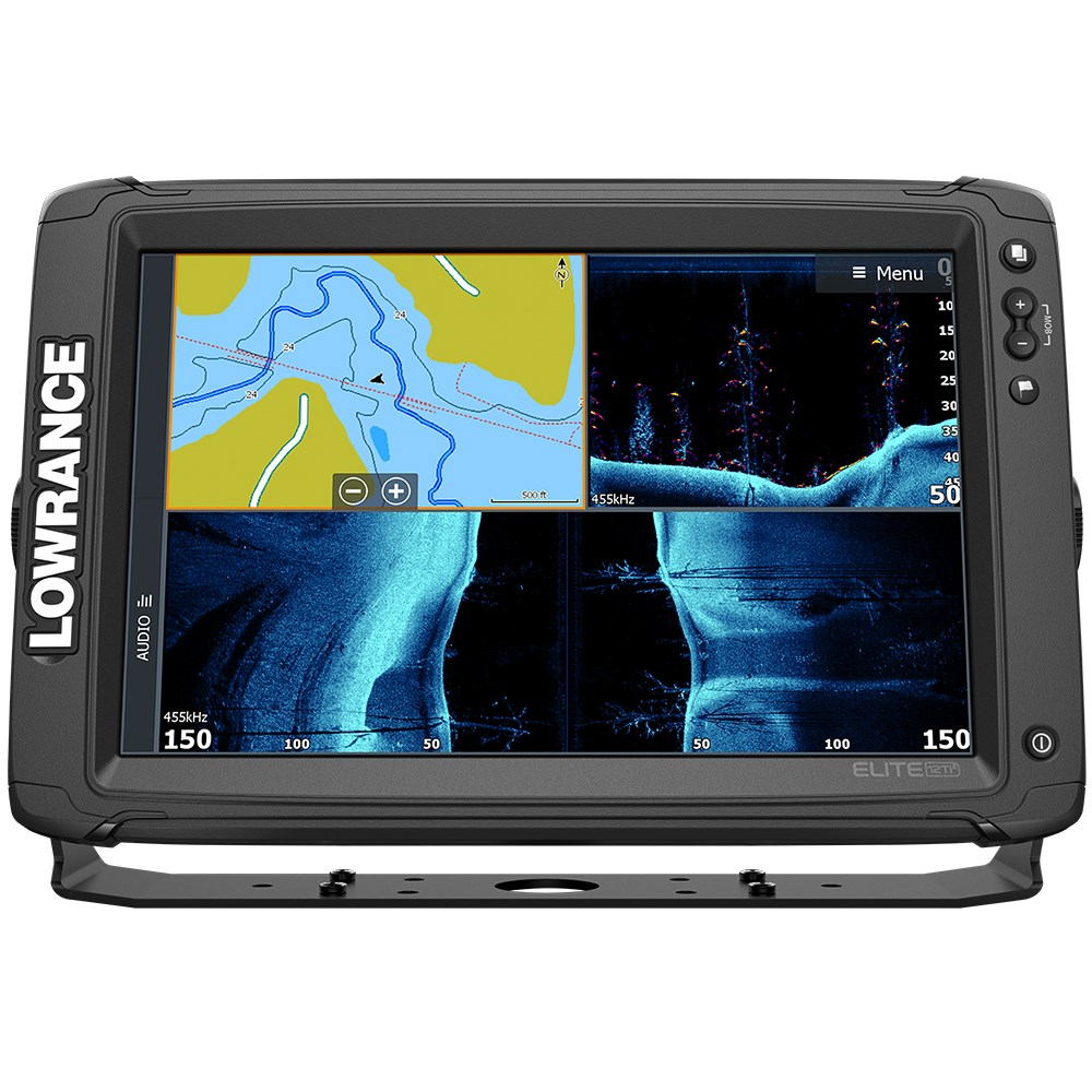 lowrance lowrance elite 12 ti combo w active imaging 3 in 1 transom mount transducer us canada nav chart 11 73354 [ 1000 x 1000 Pixel ]