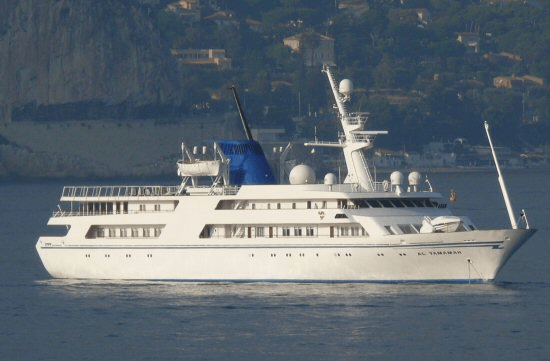 Super Luxury Yacht of Saddam Hussein goes for Sale