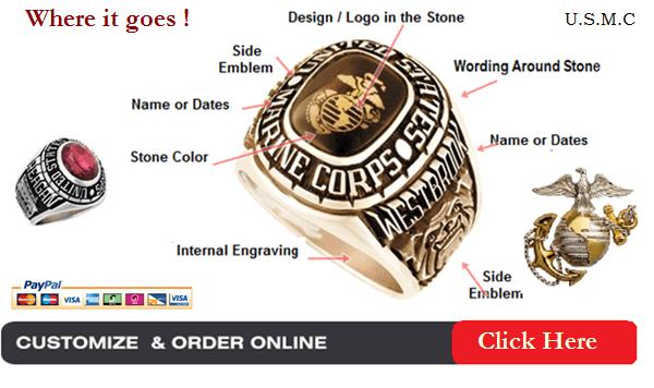 marine corps rings for men