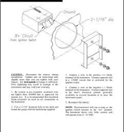 faria hourmeter installation instructions [ 768 x 1024 Pixel ]