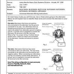 Prestolite Aircraft Alternator Wiring Diagram Block Of Solar Energy Lu Sprachentogo De Identification Marine Diesel Basics Rh Marinedieselbasics Com 24 Volt