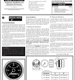 vdo programmable tachometer installation operation instructions [ 789 x 1024 Pixel ]