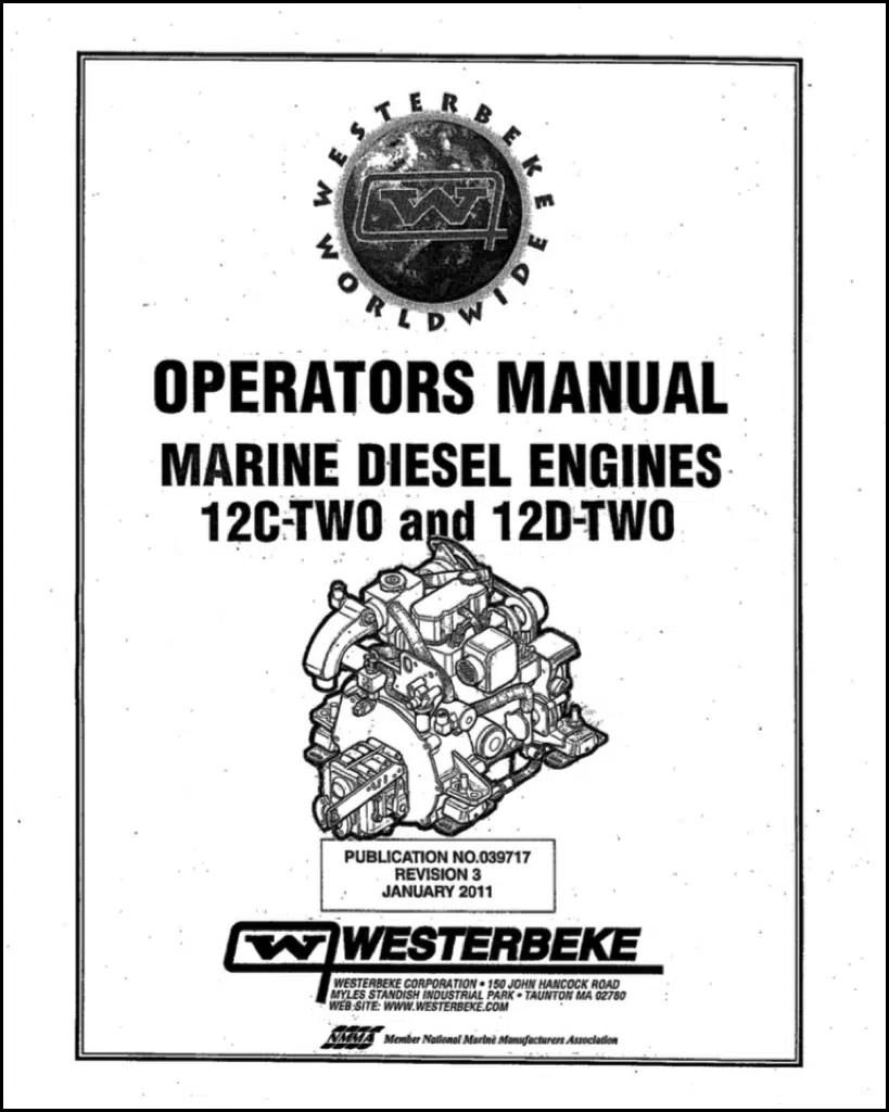 Westerbeke 12C Two Marine Diesel Engine Operator Manual