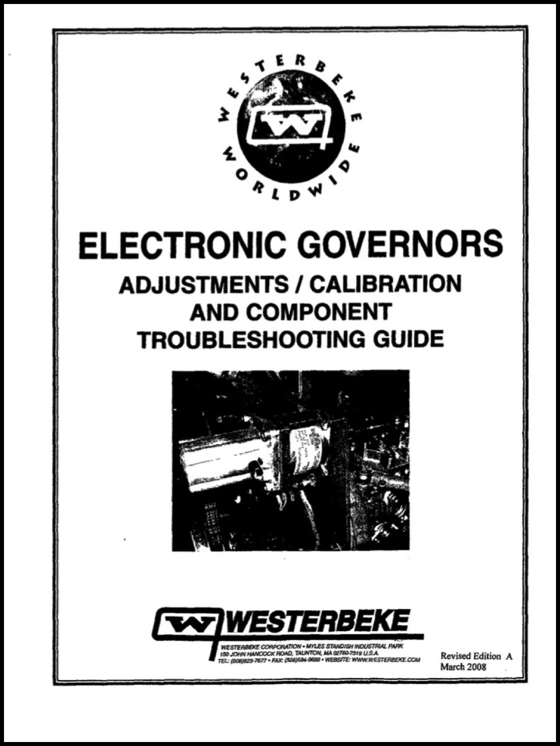 Westerbeke Electronic Governor Troubleshooting Guide