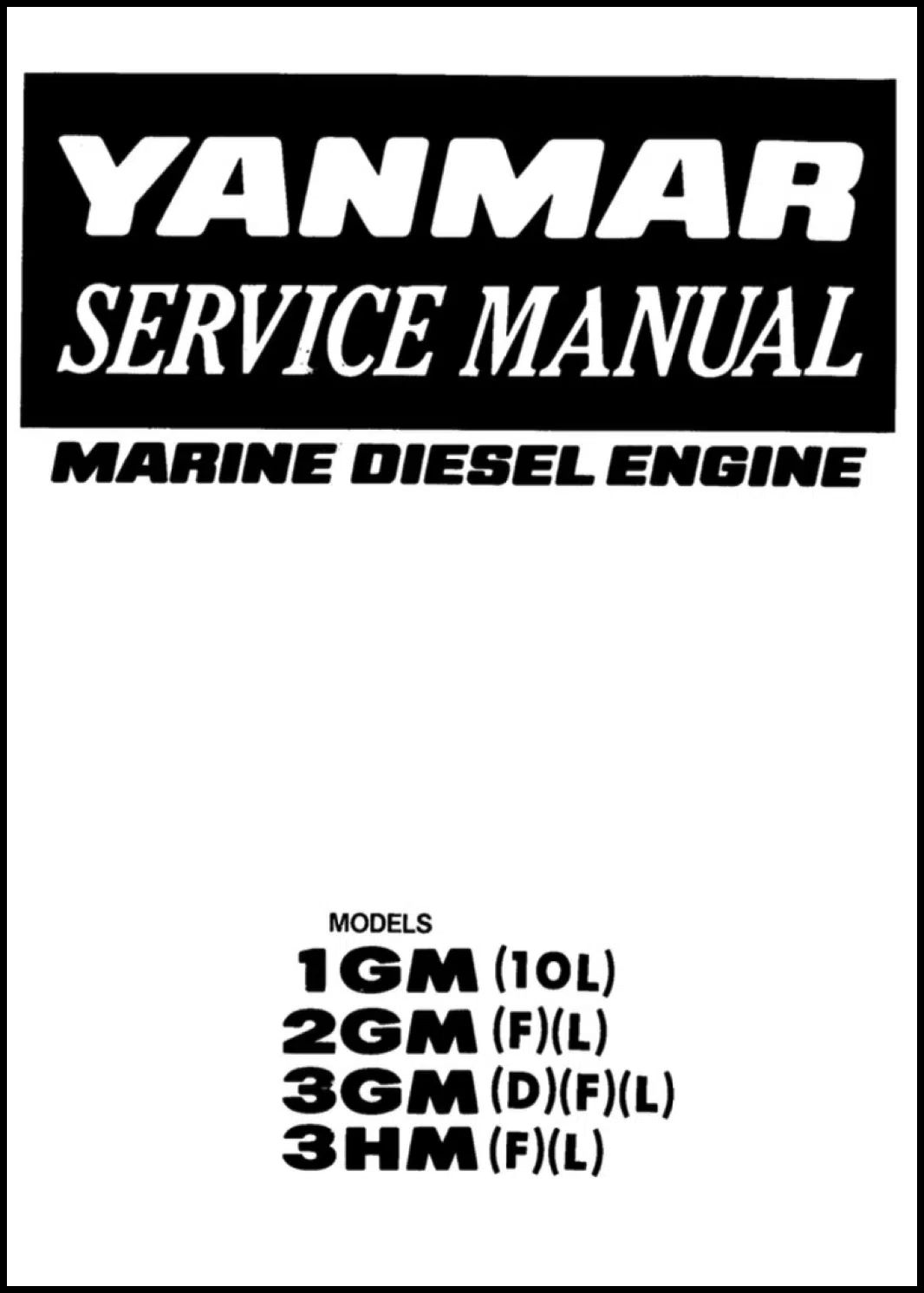 yanmar 2gm diesel engine manual
