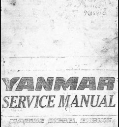 yanmar diesel engine schematic [ 1066 x 1492 Pixel ]