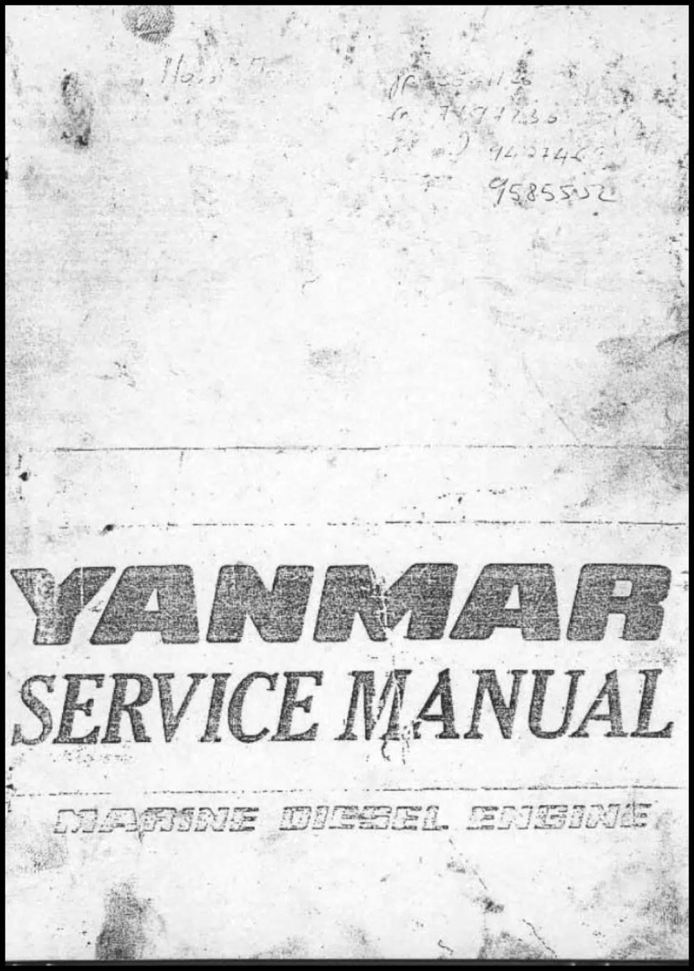 medium resolution of yanmar diesel engine schematic